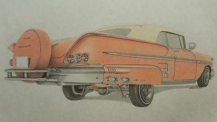 1958 Chevrolet Impala - Damautoart