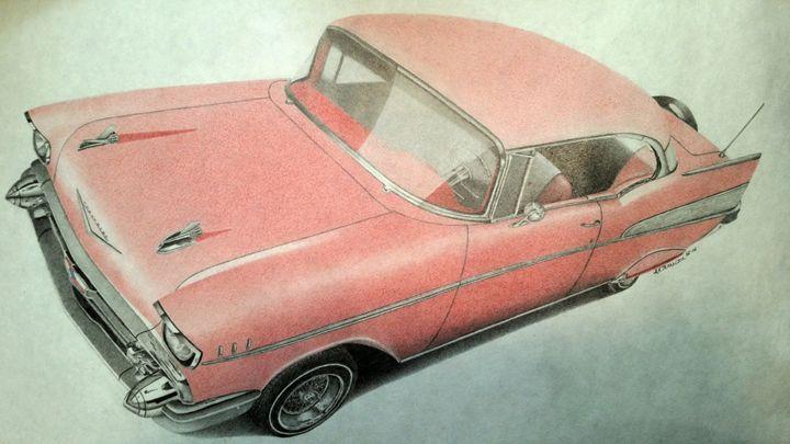 1957 Chevrolet Impala - Damautoart