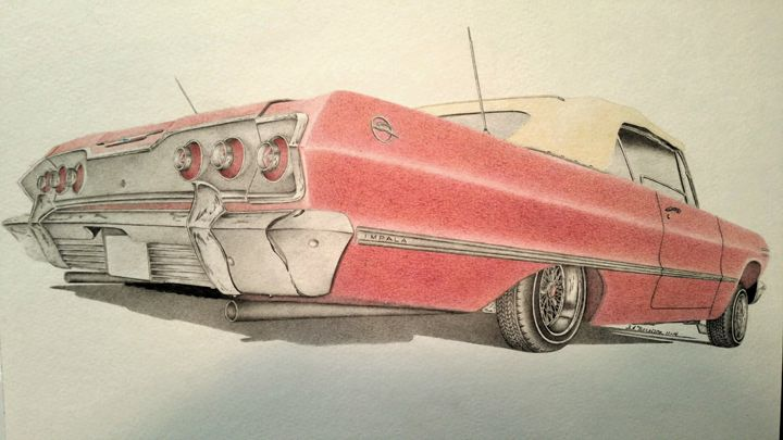 1963 Chevrolet Impala - Damautoart