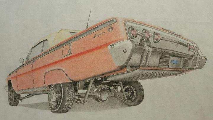 1962 Chevrolet Impala - Damautoart