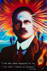 Carl Jung Portrait Artwork