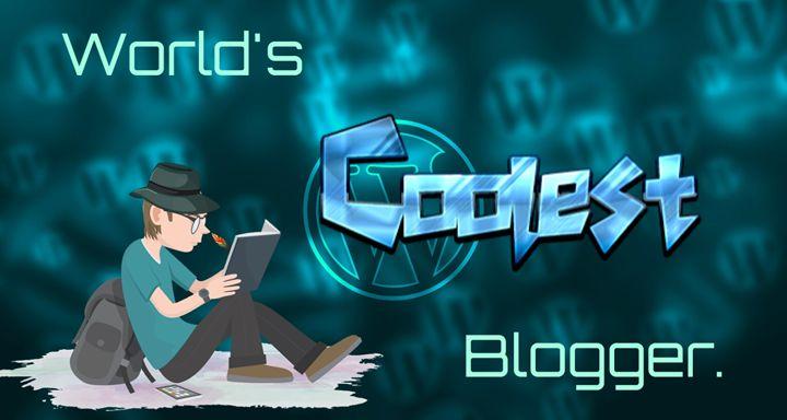 """World's COOLEST Blogger"" - Fly Writer - Imagination Set Free!"
