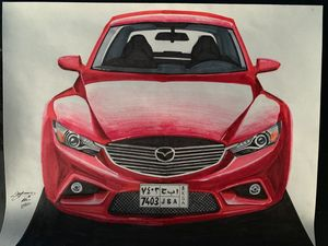 Mazda 6 drawings