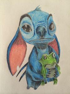 Stitch and Friend