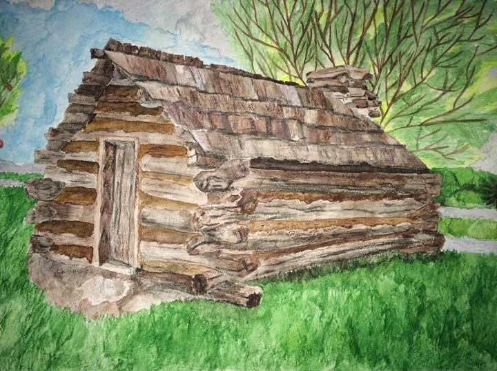 Little Lost Log Cabin - Fabartistry