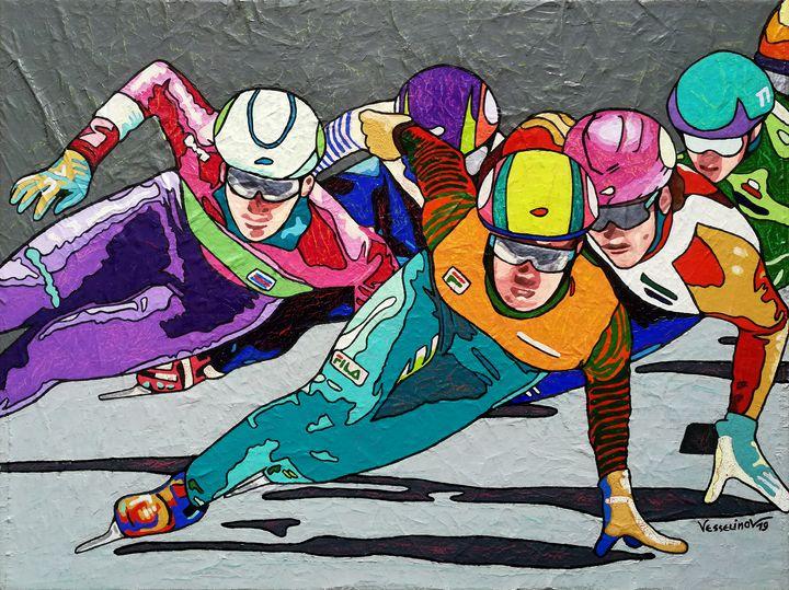 Winter games,the great finale - Vlado Vesselinov