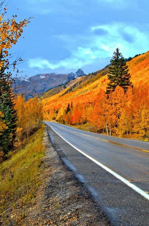 Downhill to Ouray, Colorado - MoatsArt