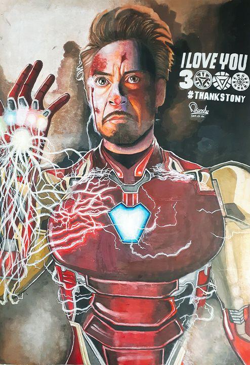Iron-Man (Avengers: Endgame Fanart) - AIWA