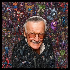 Stan Lee Collage
