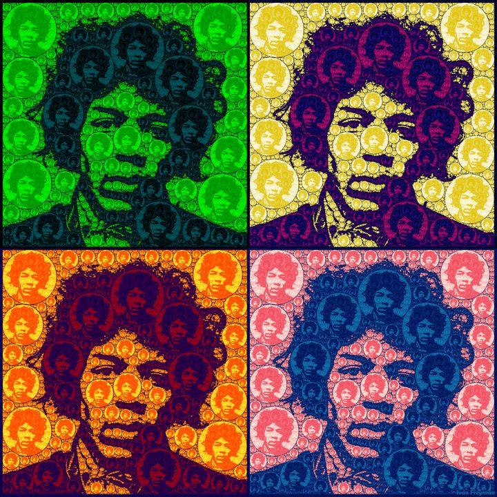 Jimi Squared - Freyman Art