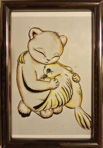 The bear and the bird
