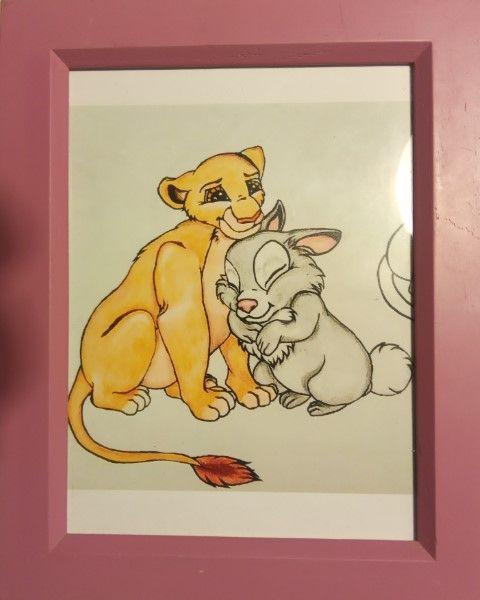 Lioness and bunny - Salvatuli