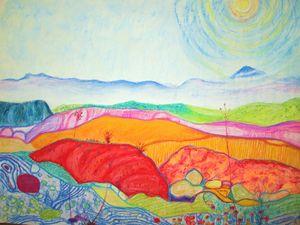 "Dream Land, Pastel, 15""x20"""