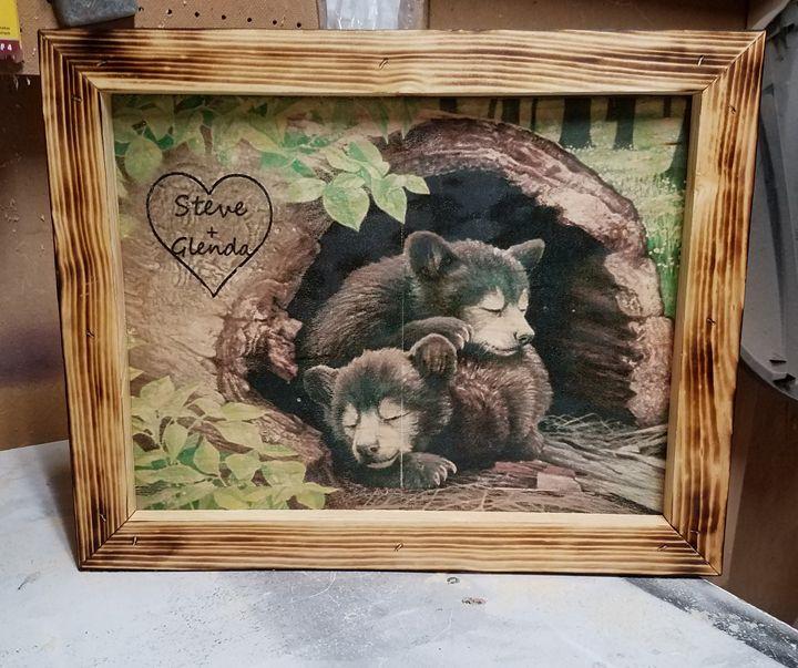 Custom Cubs On Wood - Ideas On Wood