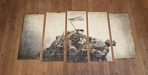 Iwo Jima On Wood