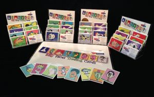 Silly Faces Trading Cards Sets