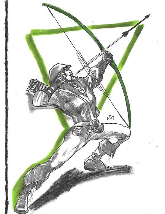 Green Arrow - Stephanie Deskins
