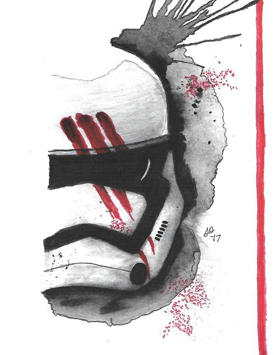 Bloody Stormtrooper - Stephanie Deskins