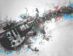 Les Paul Splash - Stephanie Deskins