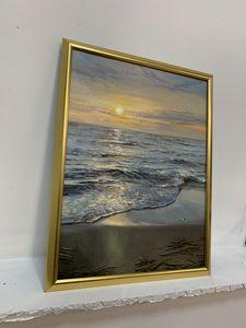 "Original oil painting ""Sea scape"""