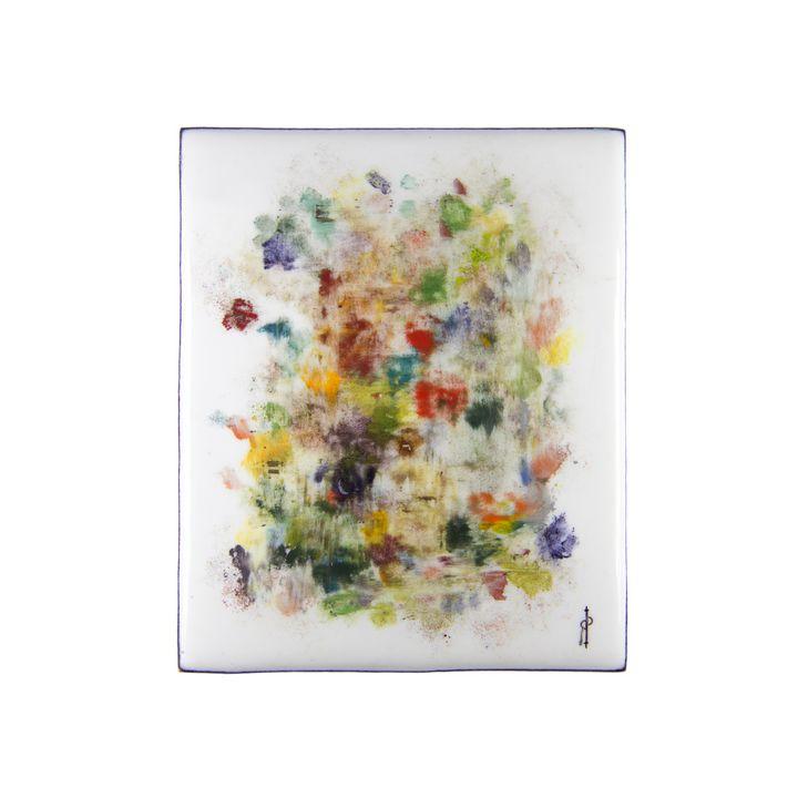 Olya - Yana Rostovskaya. Miniature paintings on enamel.