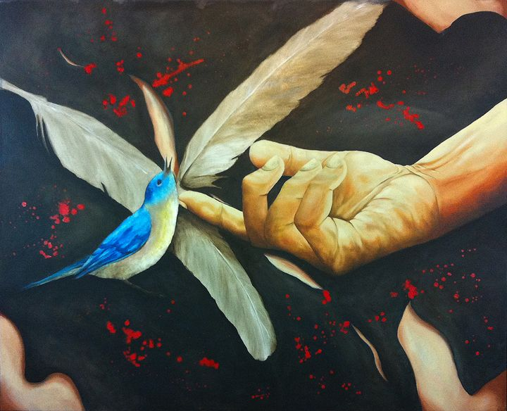 Love, Lust - Avihai cohen paintings