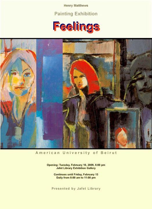 Feelings Art Exhibition - Henry Matthews