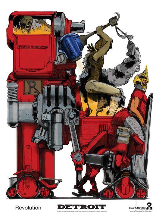 Revolution - Artist Craig A. Hamilton, Imagemaker
