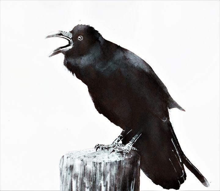 Scream's crow - Smooth art