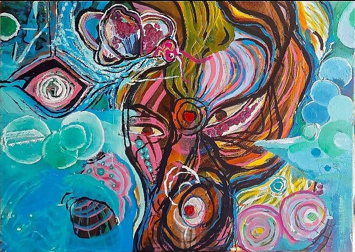 My magic horse - mistical new age art - SHABA TSOUK