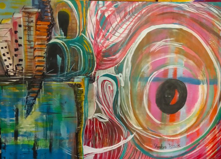 The Quantum Maze - mistical new age art - SHABA TSOUK