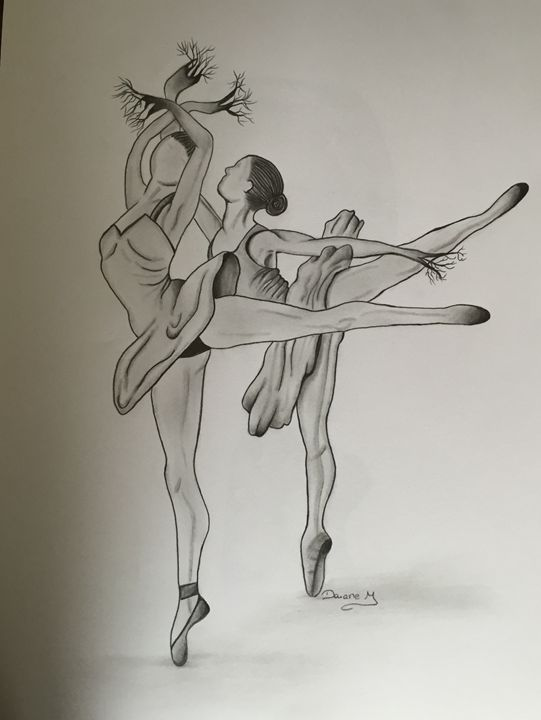 The twin ballerina - Art & Art