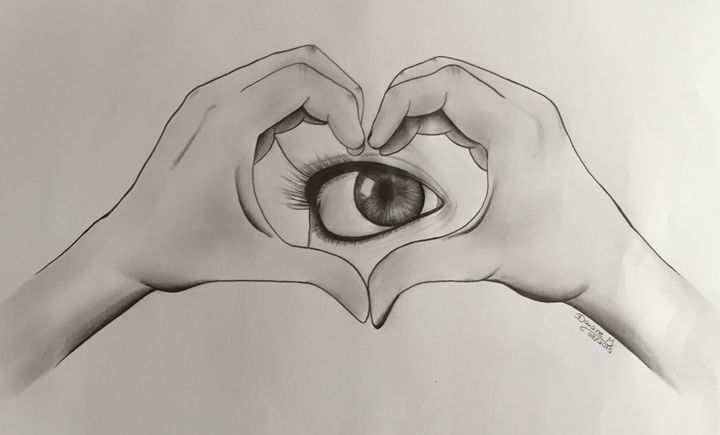 The eye of love - Art & Art