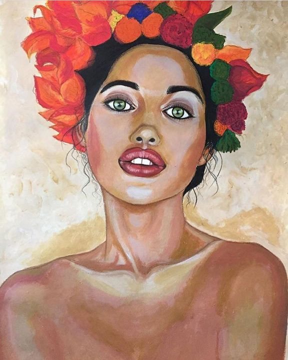 Miss Summer - Vera Khvedelidze's ART
