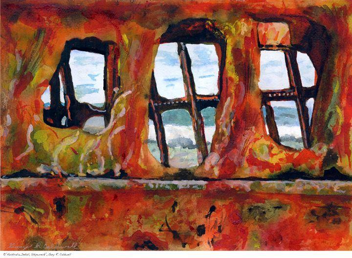 Australian Shipwreck Detail - Gary R. Caldwell | CADesign, Art & Photos