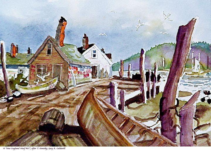 New England Wharf #01 - Gary R. Caldwell | CADesign, Art & Photos