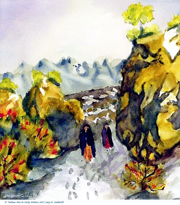 New Mexican_Winter Indian Pass - Gary R. Caldwell | CADesign, Art & Photos