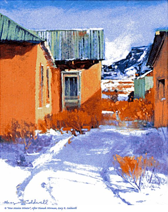 New Mexico Winter - Gary R. Caldwell | CADesign, Art & Photos