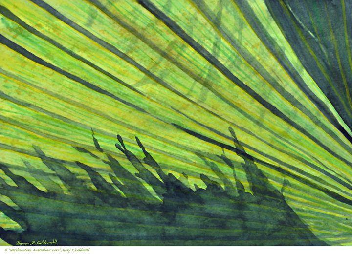 Northeastern Australian Fern - Gary R. Caldwell | CADesign, Art & Photos