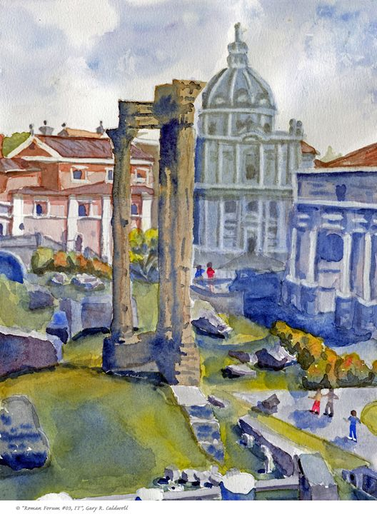 Roman Roman #03 - Gary R. Caldwell | CADesign, Art & Photos