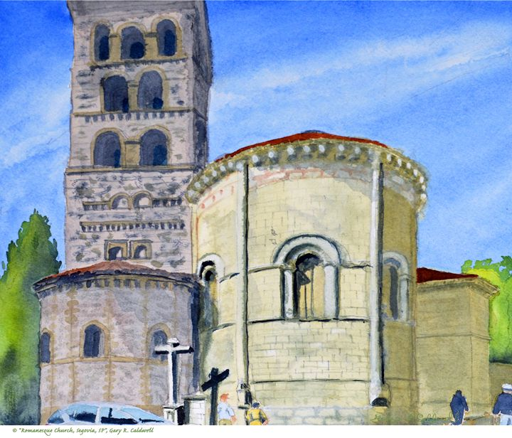 Romanesque Church, Segovia, Spain - Gary R. Caldwell | CADesign, Art & Photos