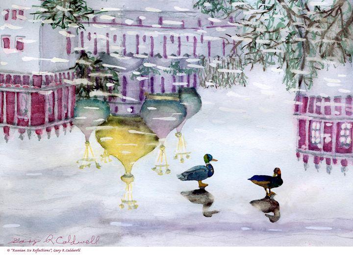 Russian Ice Refections - Gary R. Caldwell | CADesign, Art & Photos