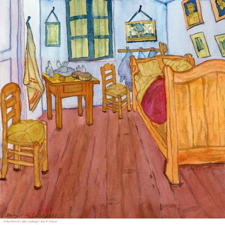 Bed Room At Seint-Remy - Gary R. Caldwell | CADesign, Art & Photos