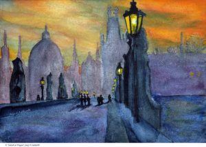 Sunset at Prague - Gary R. Caldwell | CADesign, Art & Photos