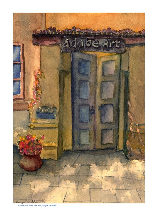 Taos Art Store #01 - Gary R. Caldwell   CADesign, Art & Photos