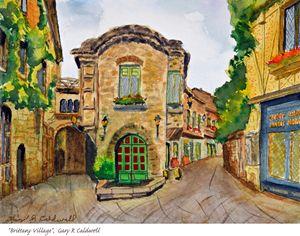 Brittany Village, France - Gary R. Caldwell   CADesign, Art & Photos