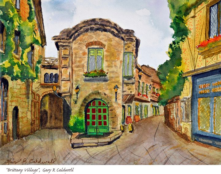 Brittany Village, France - Gary R. Caldwell | CADesign, Art & Photos