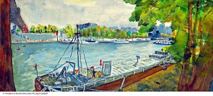 Trocadero on the Seine River, Paris - Gary R. Caldwell | CADesign, Art & Photos