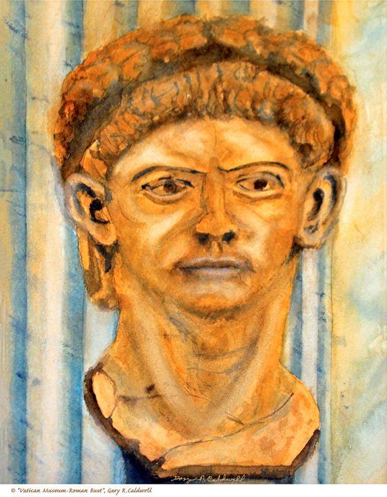 Vatican Museum_Roman Bust - Gary R. Caldwell | CADesign, Art & Photos