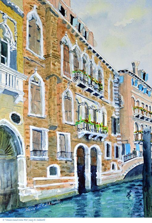 Venice Canal Scene #02 - Gary R. Caldwell | CADesign, Art & Photos